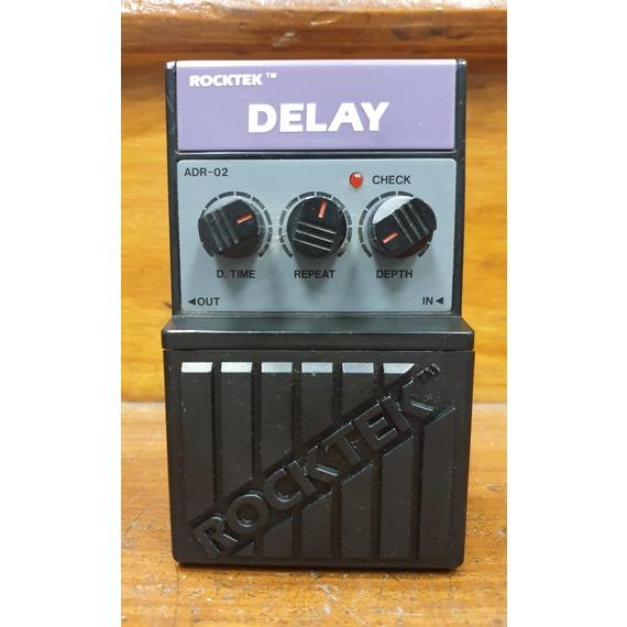 SECONDHAND Rocktek Delay Pedal