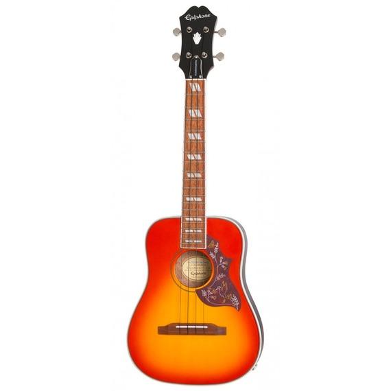 Epiphone Hummingbird Electro Acoustic Tenor Ukulele Outfit