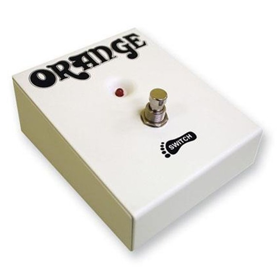 Orange Single Button Foot Switch