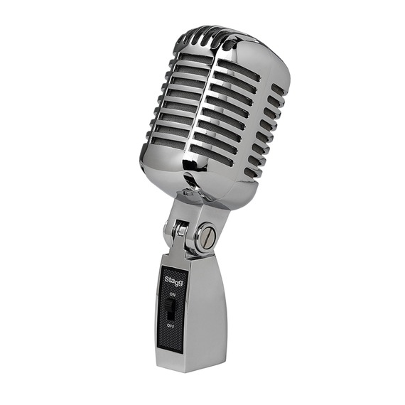 Stagg 50's Style Mic - Chrome