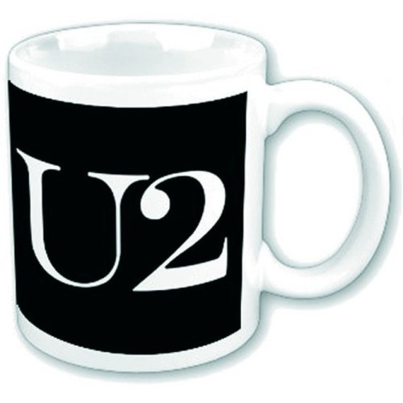 Official U2 Boxed Mug - Logo