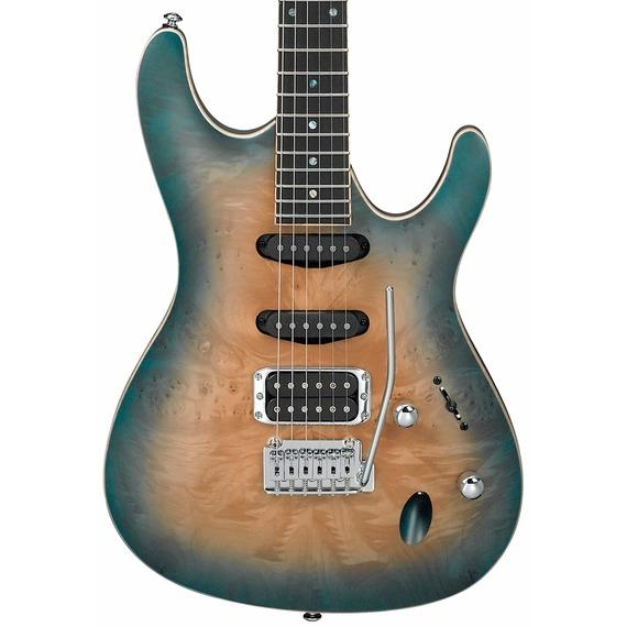 Ibanez SA460MBW Electric Guitar - Sunset Blue Burst