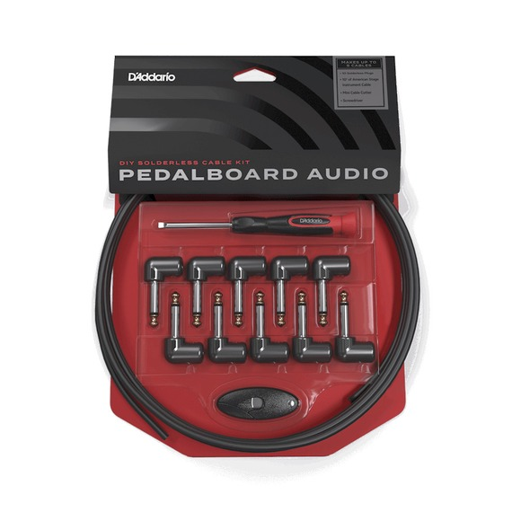 Planet Waves Cable Station Pedal Board Patch Cable Kit - MINI PLUGS