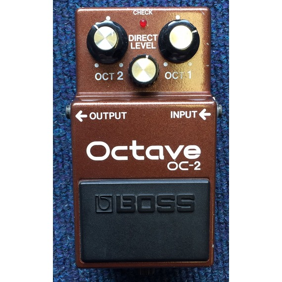 SECONDHAND Boss OC-2 Octave Pedal Made in Japan