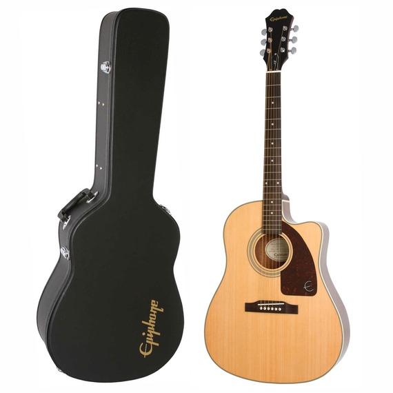 Epiphone AJ-210ce Acoustic Guitar Outfit inc. Hard Case