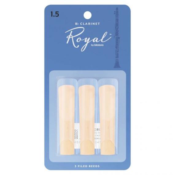 Rico Royal Bb Clarinet Reeds 3 Pack