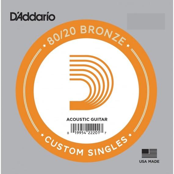 D'addario Bronze 80/20 Single String