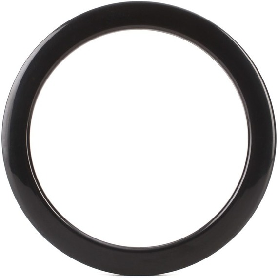 "Bass Drum O's 5"" Sound Hole Ring For Evans - Black"