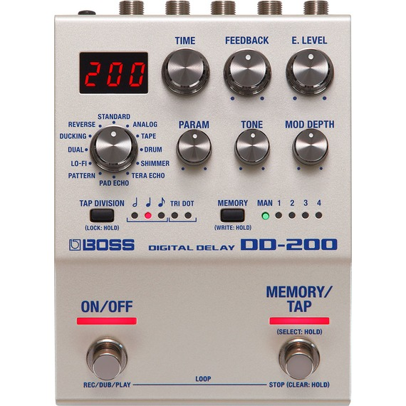 BOSS DD-200 Digital Delay Pedal
