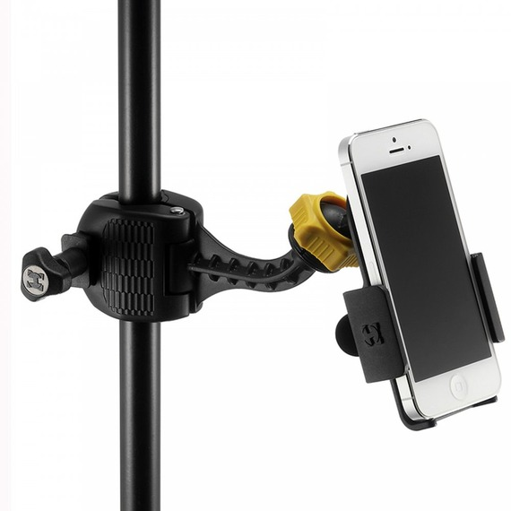 Hercules DG200B Smartphone Holder with Clamp