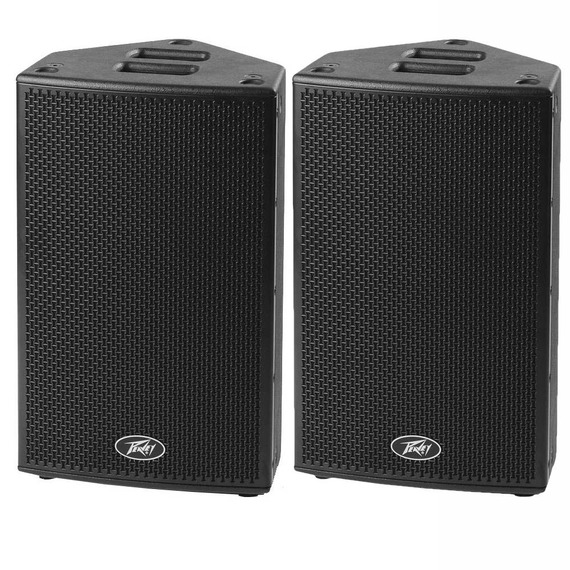 "Peavey PVHS12 Hisys 12"" Active PA Speaker - PAIR"