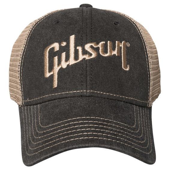 Gibson Faded Denim Cap