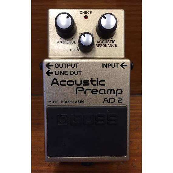 B-STOCK BOSS AD-2 Acoustic Pre-Amp