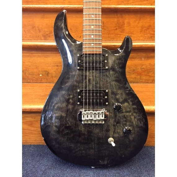 SECONDHAND Crafter Convoy TRM Electric Guitar - Trans Black