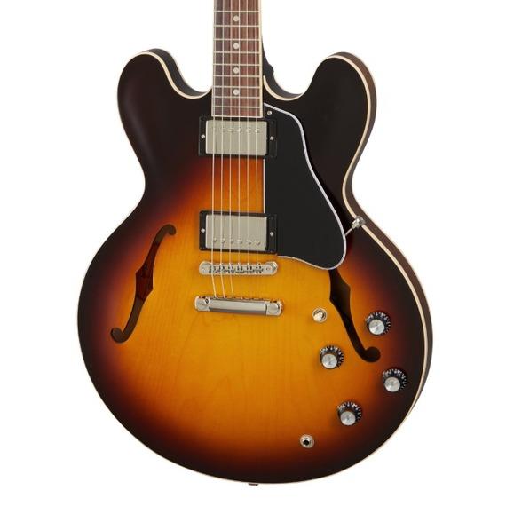 Gibson ES-335 Satin - Satin Vintage Sunburst