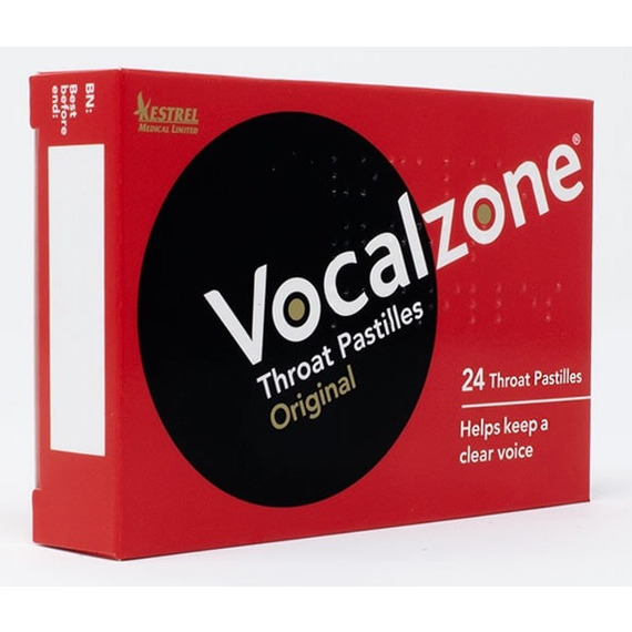 Vocalzone Throat Pastilles