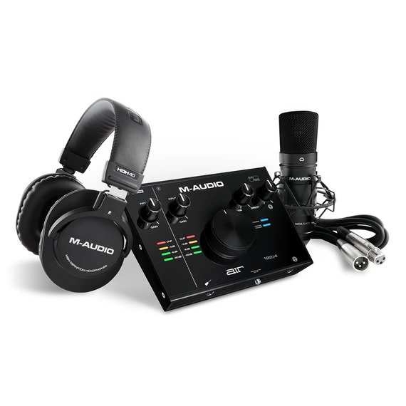 M-Audio AIR 192|4 Vocal Studio Pro - Audio Interface, Mic & Headphone Package