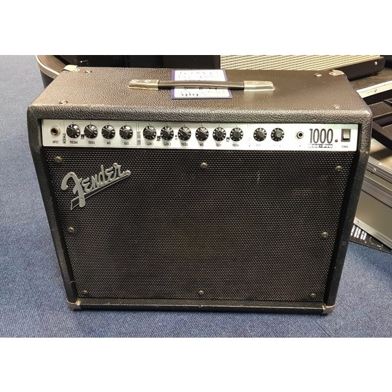 "SECONDHAND Fender Roc Pro 1000 - USA 100W 1x12"" Guitar Amp + Cover"