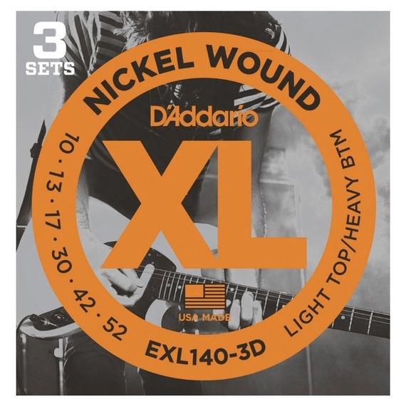 D'Addario EXL140 3D Pack