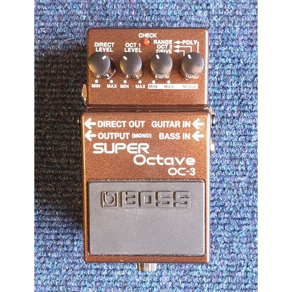 SECONDHAND Boss OC3 Super Octave Pedal