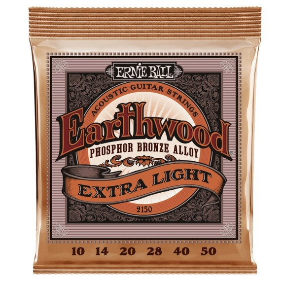 Ernie Ball Phosphor Bronze Acoustic Strings