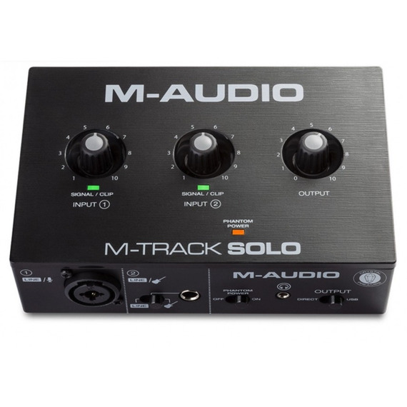 M-Audio M-Track SOLO - USB Audio Interface
