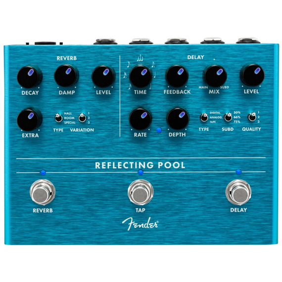 Fender Reflecting Pool - Delay and Reverb Pedal