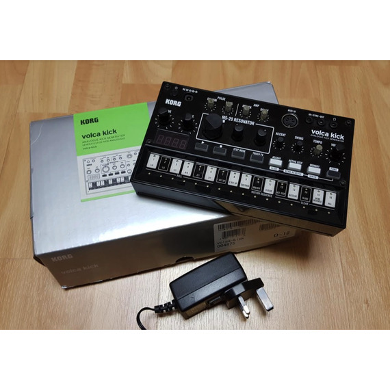 Korg Volca Kick B-STOCK inc KA350 Power Supply - Analogue Kick Generator