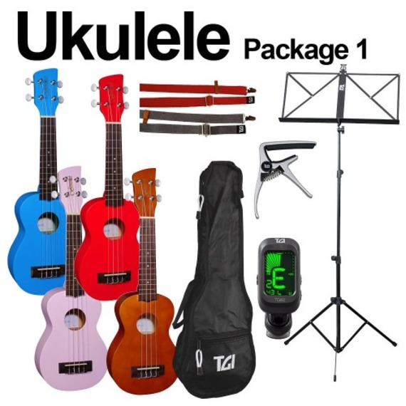 Brunswick Ultimate Beginners Soprano Ukulele Package