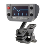 Korg AW-OTB-POLY Clip-On BASS Polyphonic Tuner with OLED Display