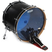 "Evans Hydraulic Blue Bass Drum Batter Head - 22"""