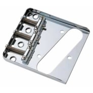 Guitar Gear Tele Vintage Ashtray Bridge - Chrome