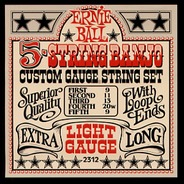 Ernie Ball 2312 5 String Banjo Strings