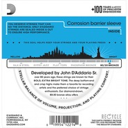 D'addario EJ36 80/20 Bronze 12 String Acoustic Strings - 10-47