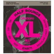 D'addario ENR71 Half Round Bass Strings - 45-100