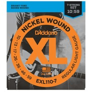 D'addario EXL110-7 7 String Guitar Strings - 10-59