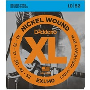 D'addario EXL140 Electric Guitar Strings - 10-52