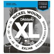 D'addario EXL148 Electric Guitar Strings - 12-60