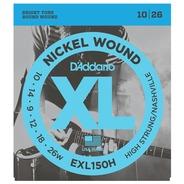 D'addario EXL150H Nashville Tuning /  High Strung 10-26