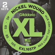 D'addario EXL165TP Electric Bass Strings TWIN PACK - 45-105