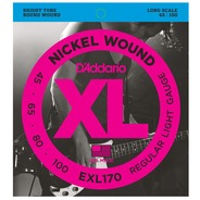 D'addario EXL170 Electric Bass Strings - 45-100