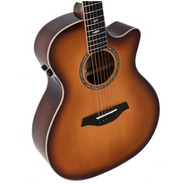 Sigma GBCE3SB+ Modern Series Electro Acoustic - Blackwood / Sunburst