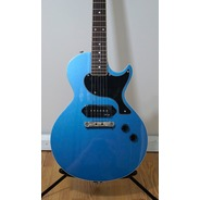 Gordon Smith GS1000 P90 Single Cut CUSTOM Electric Guitar - Pelham Blue Inc Hard Case
