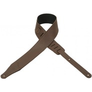 Levy's M26BL Leather Guitar Strap - Brown