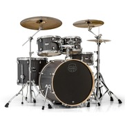 "Mapex Mars Drum Kit Inc. Hardware 22"" Rock Fusion - Smokewood"