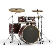 "Mapex Mars Drum Kit Inc. Hardware 22"" Rock Fusion - Bloodwood"