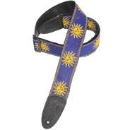 Levy's MPJG-Sun Weave Guitar Strap - Blue