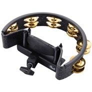 Pearl PTM10GH Mountable Tambourine - Black / Gold