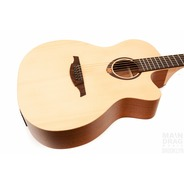 Lag T70ACE Tramontane Auditorium Cutaway Electro Acoustic - Natural