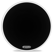Evans EQ1 Resonant Black Bass Drum Head